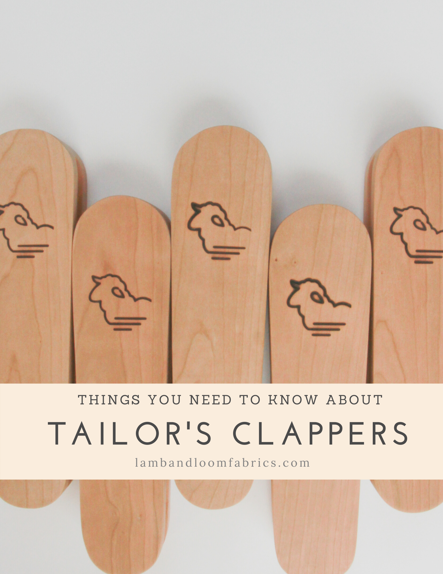 Things you need to know about Tailor's Clappers